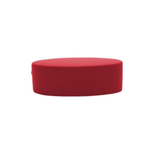 Červený puf Softline Bon-Bon Valencia Red , délka 60 cm