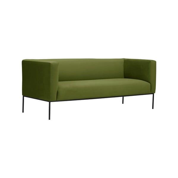 Zelená trojmístná pohovka Windsor & Co Sofas Neptune