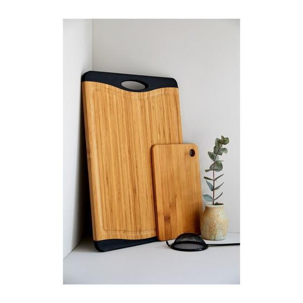 Prkénko na krájení z bambusového dřeva Wenko, 23 x 15 cm