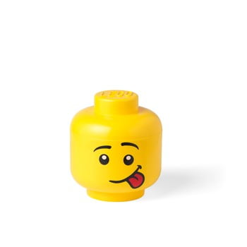 Cutie depozitare LEGO® Silly S, galben, ⌀ 16,3 cm imagine