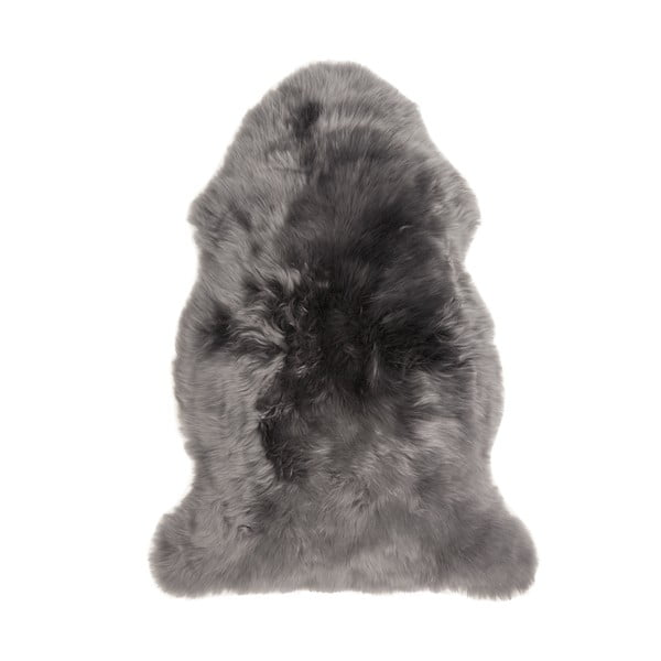 Sivá ovčia kožušina loomi.design, 60 x 90 cm