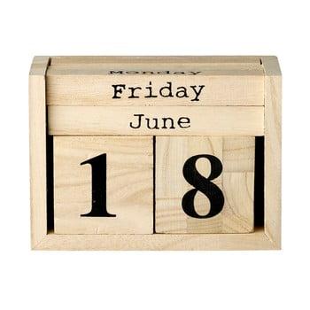 Calendar din lemn Bloomingville Calendar de la Bloomingville