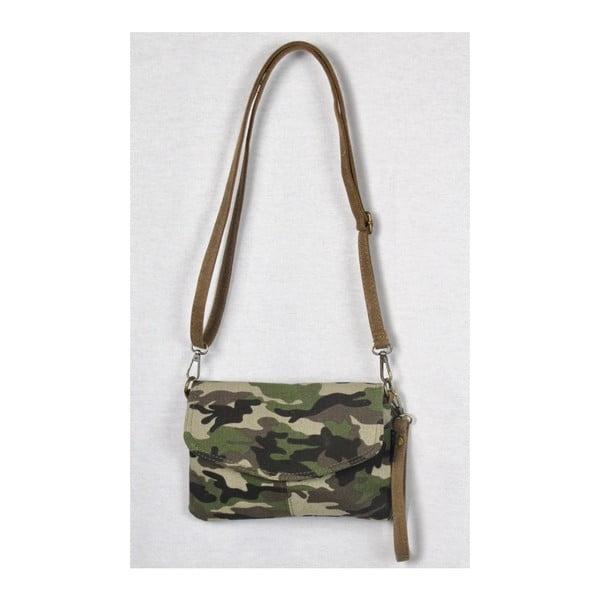 Khaki zelená plátěná taška Sorela Nayla Army