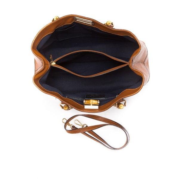 Kabelka Roberta M 1091 Cognac