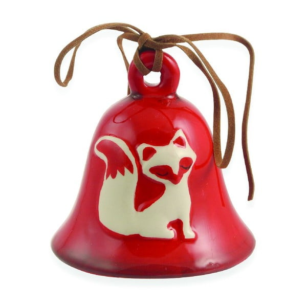 Set 12 vánočních zvonečků Fox