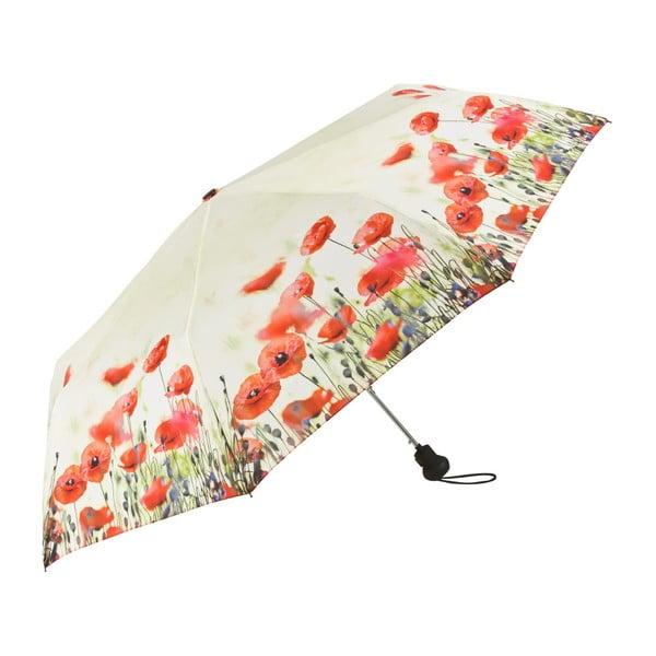 Skládací deštník Von Lilienfeld Poppies, ø 90 cm