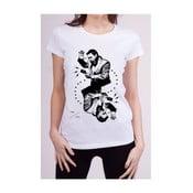 Dámské tričko s krátkým rukávem KlokArt Srdcovka, vel. M