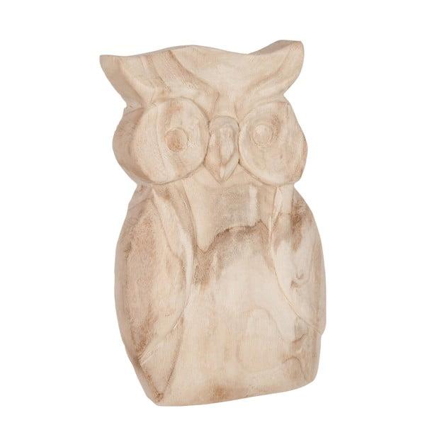 Sada 2 dřevěných sošek Owls