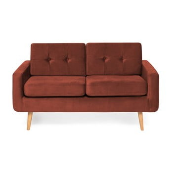 Canapea cu 2 locuri Vivonita Ina Trend, roșu de la Vivonita
