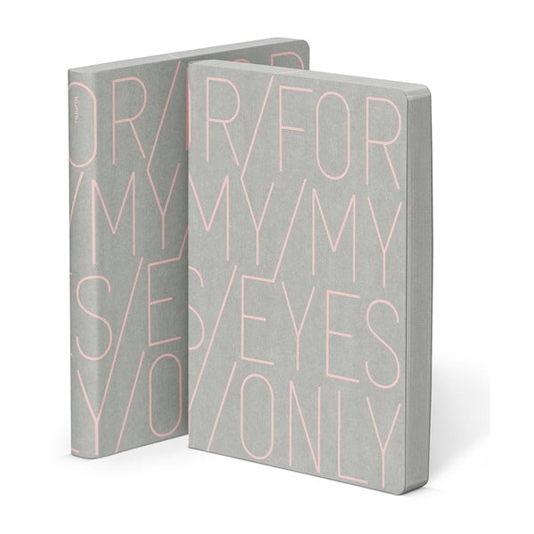 Zápisník For My Eyes, 16,5x22 cm