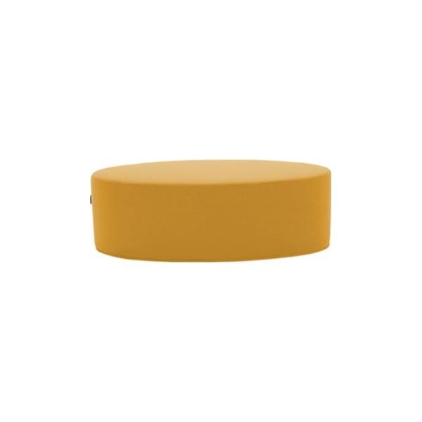 Bon-Bon Eco Cotton Yellow sárga puff, hosszúság 120 cm - Softline
