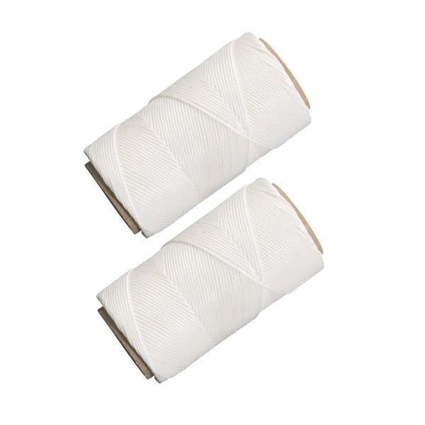 Zestaw 2 białych sznurków do pieczenia Westmark Baker, dł. 60 m