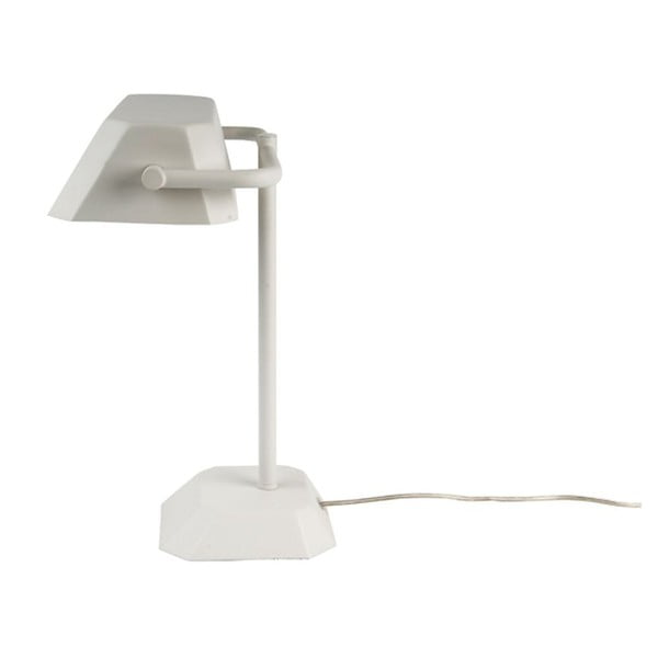 Stolní lampa Metal Notary, metal white