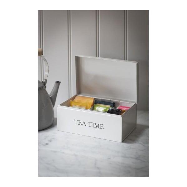 Box na čaj Tea time caddy