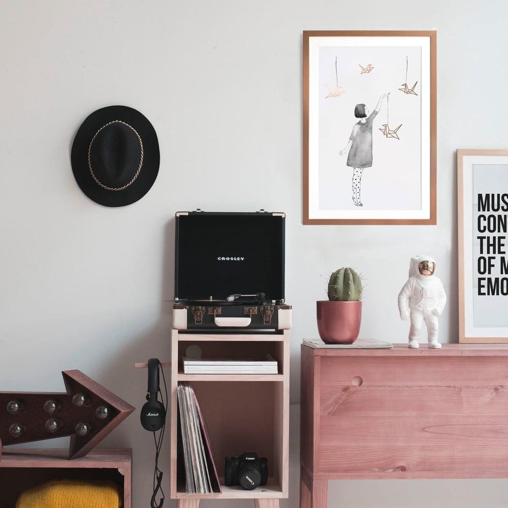 tablou little nice things pajaritas 40 x 60 cm bonami. Black Bedroom Furniture Sets. Home Design Ideas