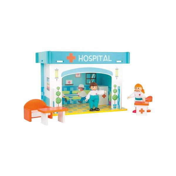 Detská drevená nemocnica Legler Playhouse Hospital