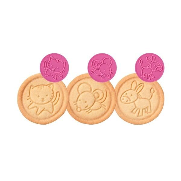 Razítko na sušenky Tescoma Delícia Zvířátka, 6 motivů