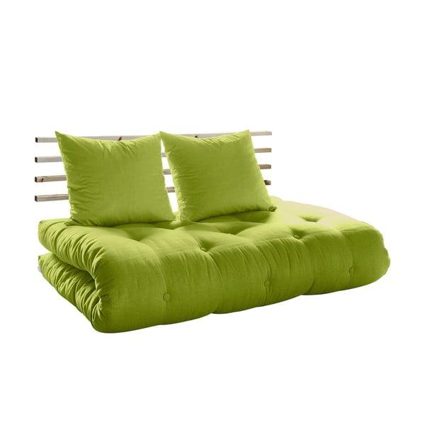 Canapea extensibilă Karup Shin Sano Natur/Pistacio