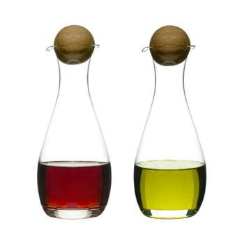 Set olivieră şi oţetieră Sagaform Oval, 300 ml imagine