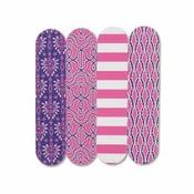 Sada čtyř mini pilníků Pink Hydrangea