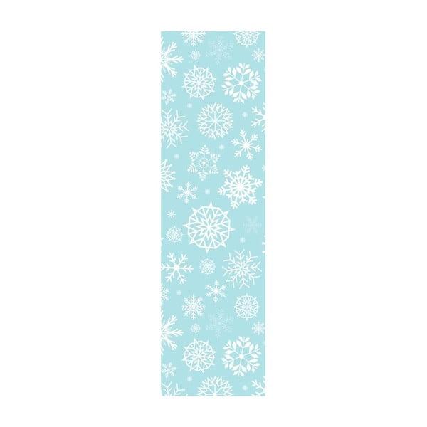 Běhoun Cold Blue, 40x140 cm