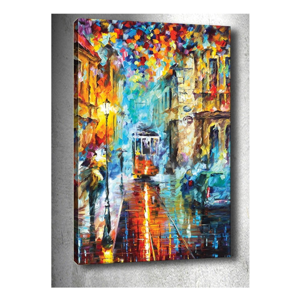 Obraz Rainy City 40 x 60 cm