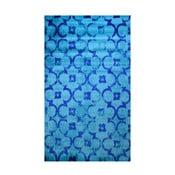 Modrý koberec Webtappeti Castle, 165x230cm