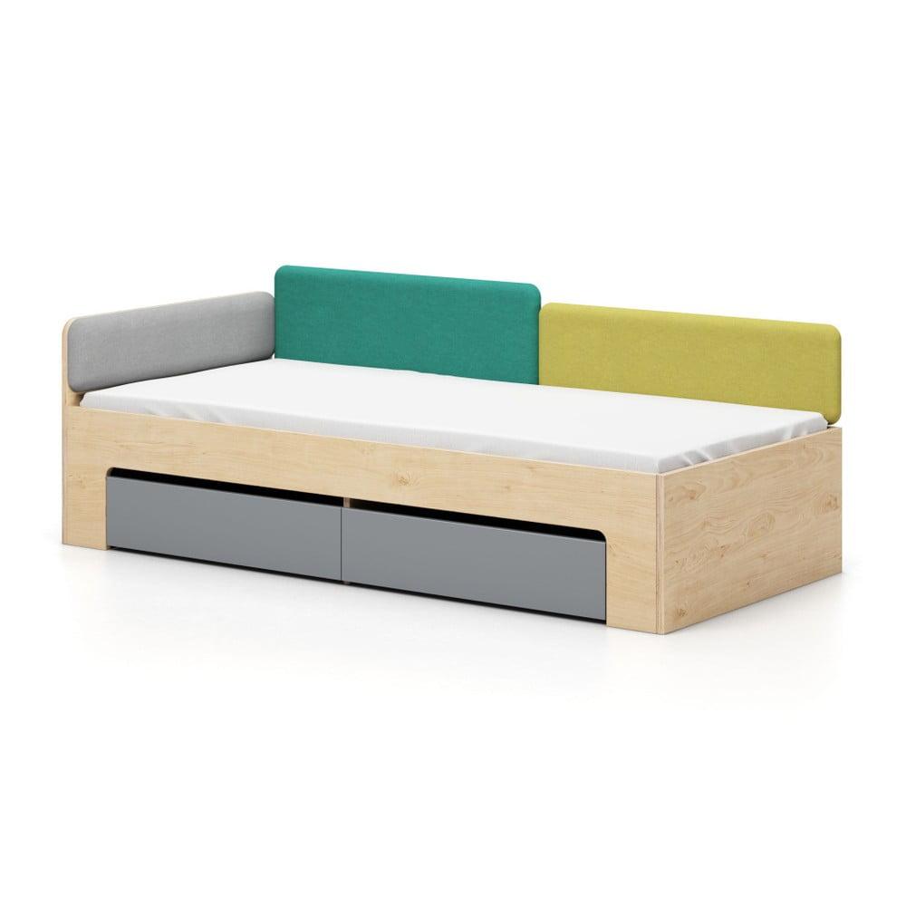 Jednolůžková postel Devoto Moody, 90 x 200 cm