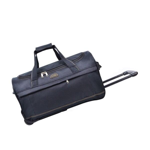 Modrá cestovná taška nakolieskach Hero, 43l