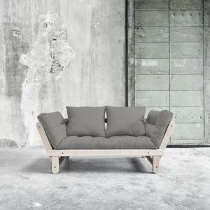 Canapea extensibilă Beat Beech/Granite Grey