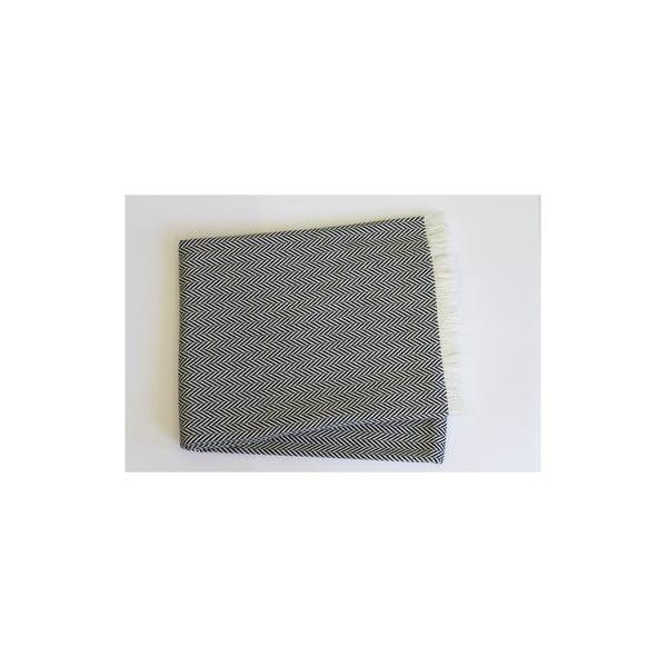 Lehká deka Skyline Navy Blue, 140x180 cm