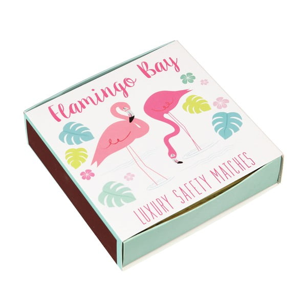 Cutie de chibrituri lungi Rex London Flamingo Bay