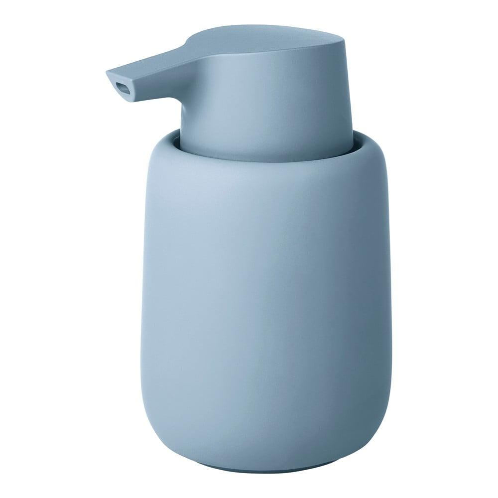 Modrý dávkovač mýdla Blomus Sono, 250ml