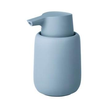 Dozator de săpun Blomus Sono, 250 ml, albastru