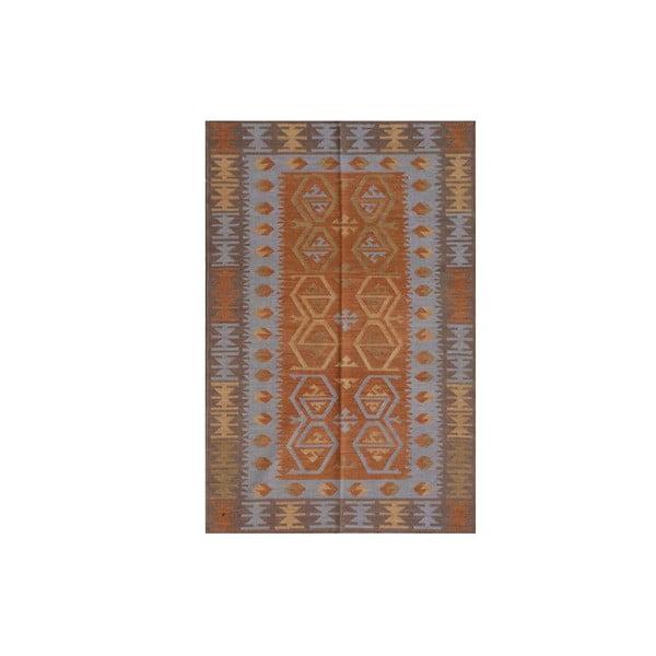 Vlněný koberec Kilim no. 726, 155x240 cm
