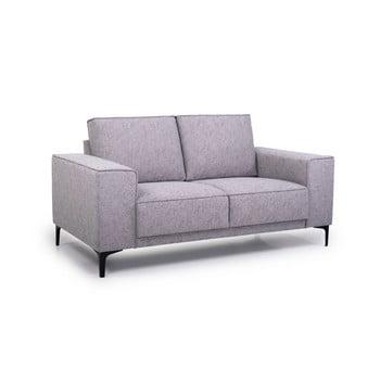 Canapea cu 2 locuri Softnord Copengahen gri deschis