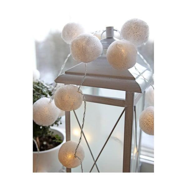 Svítící dekorace Cotton Balls