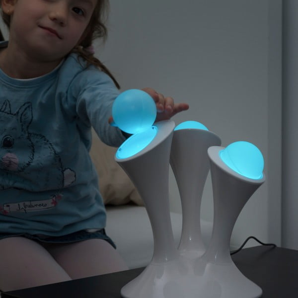 Veioză cu LED-uri colorate și capete fluorescente detașabile InnovaGoods Home