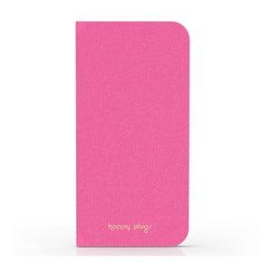 Překlápěcí obal Happy Plugs na iPhone 6, růžový