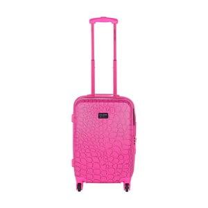 Růžový příruční kufr LULU CASTAGNETTE Willy, 44l