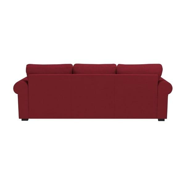 Červná trojmístná pohovka Windsor & Co Sofas Hermes