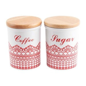 Dózy na kávu a cukr