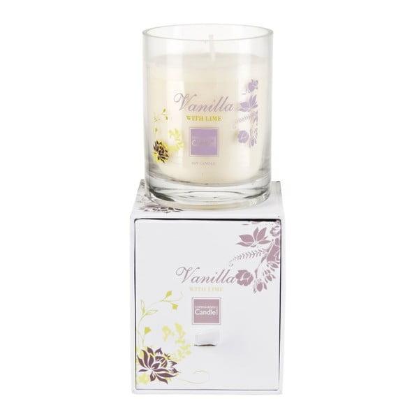 Aroma svíčka Vanilla & Lime Small, doba hoření 40 hodin