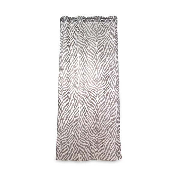 Závěs Zebra Kaki, 135x270 cm