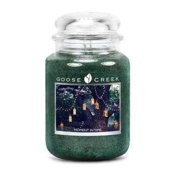 Lumânare parfumată în recipient de sticlă Goose Creek Moment in Time, 150 ore de ardere imagine