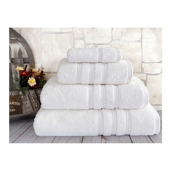 Bílý ručník Irya Home Classic, 30x50 cm