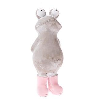 Decorațiune în formă de broască Dakls, înălțime 19 cm imagine