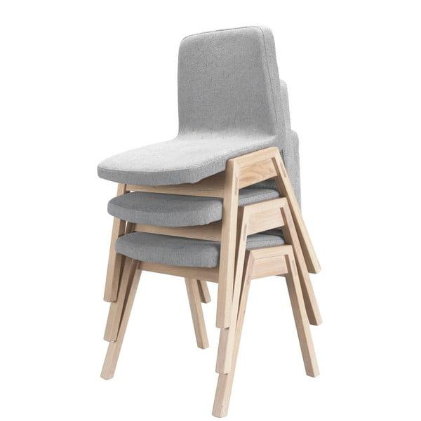 Jídelní židle s nohami z dubového dřeva Wewood - Portuguese Joinery Pensil