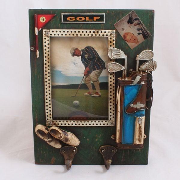 Fotorámeček Golf s háčky