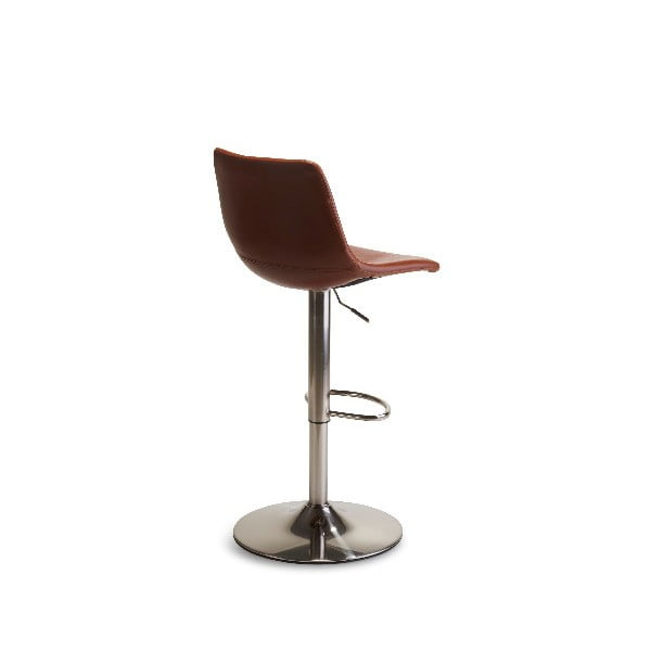 Scaun bar Furnhouse Lukas Swivel, maro